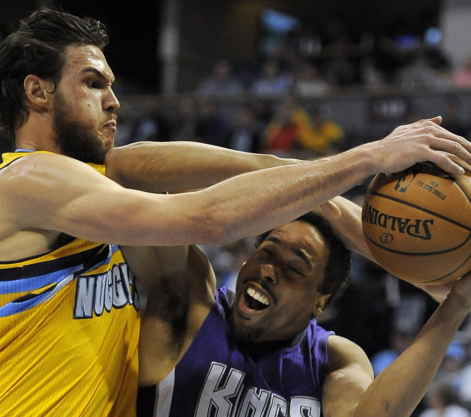 Sacramento Kings Vs. Denver Nuggets 4/12/15: Video