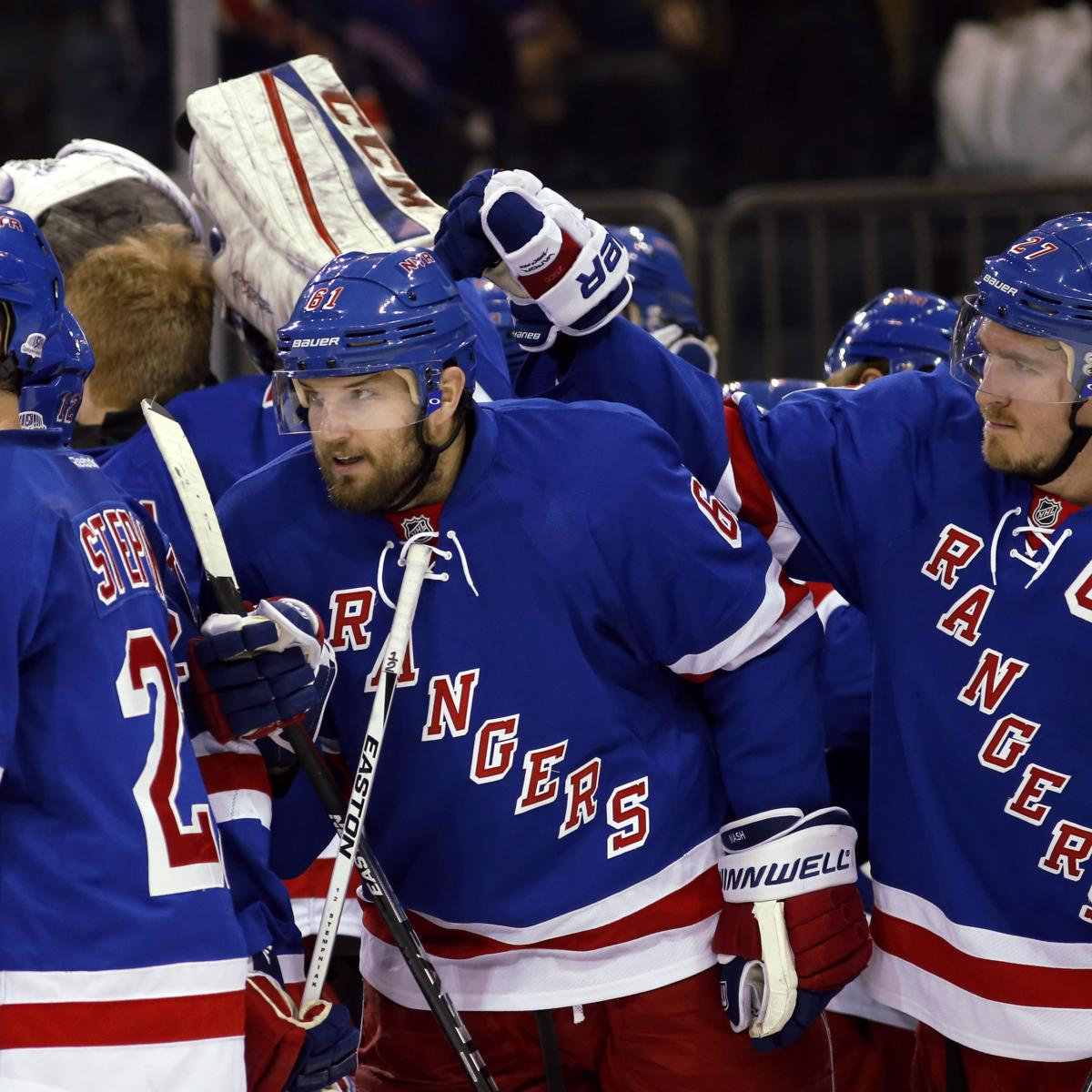 NHL Playoff Bracket 2015: Schedule, Format And Stanley Cup