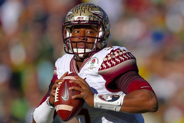 940001a8 Florida State quarterback Jameis Winston has been projected as the No. 1  overall pick in virtually every mock draft since February's NFL Scouting  Combine.