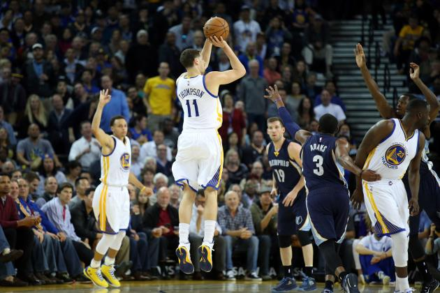 Breaking Down Klay Thompson's Picture-Perfect Jump Shot   Bleacher Report