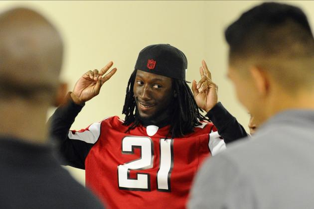 Nike NFL Jerseys - Falcons CB Desmond Trufant Developing into One of NFL's Best ...