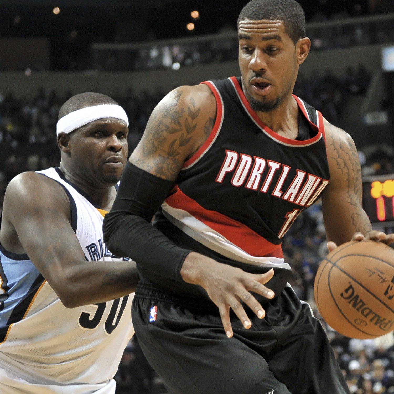 Blazers Home Court Advantage: Memphis Grizzlies Vs. Portland Trail Blazers: 1st-Round