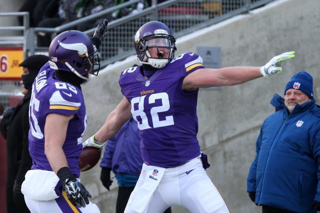 NFL Jerseys Nike - Minnesota Vikings: Why Kyle Rudolph Is Vikings' Most Overlooked ...