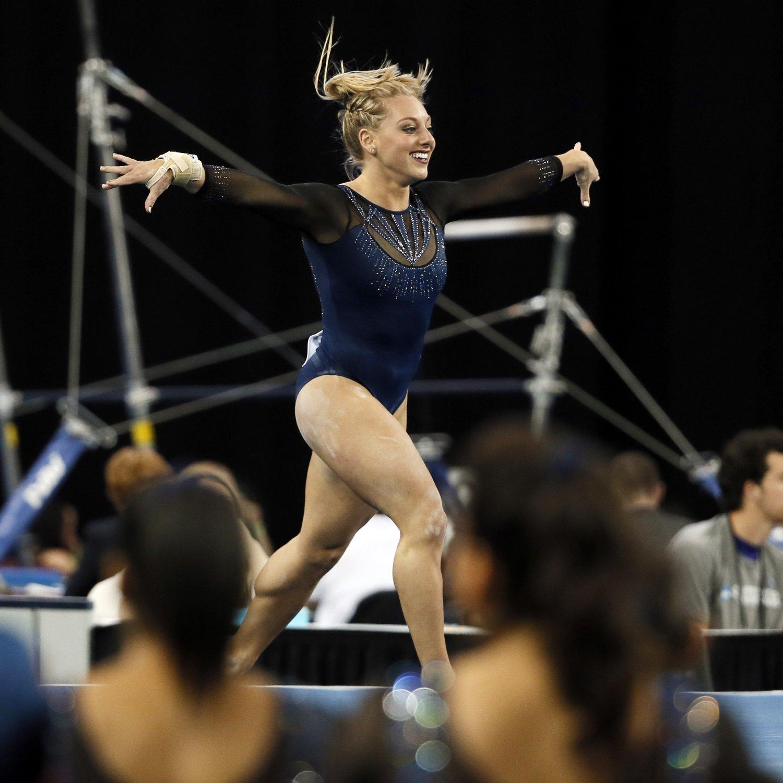 gymnastics ncaa womens championships results daily res bleacherreport