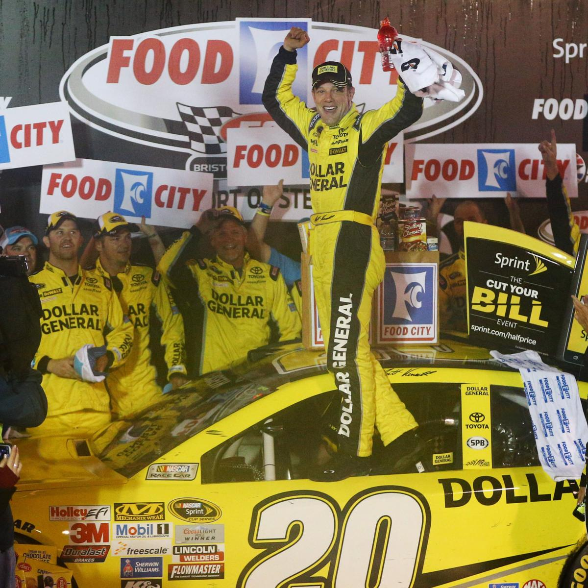 nascar at bristol 2015 winners and losers from the food. Black Bedroom Furniture Sets. Home Design Ideas