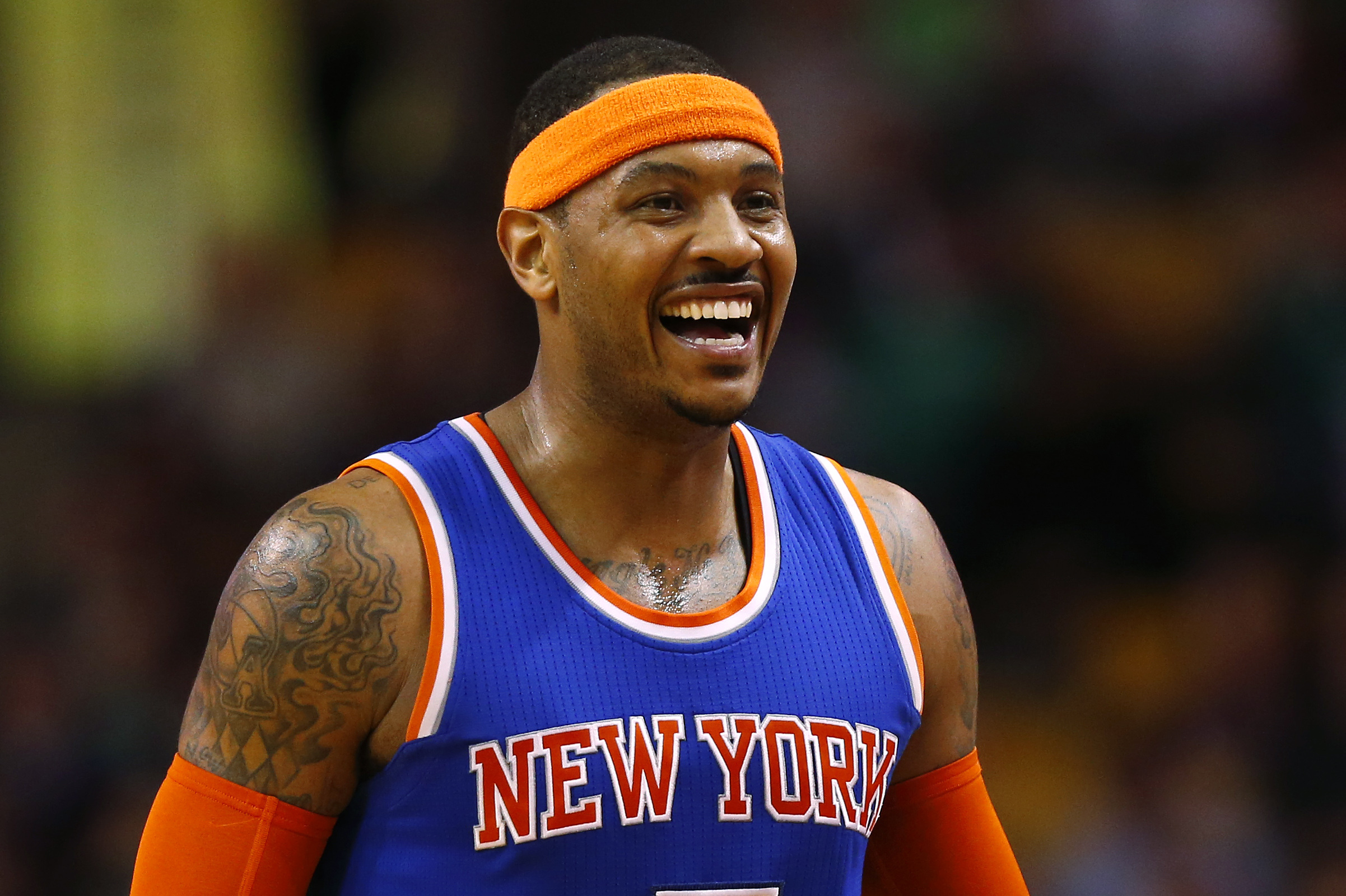 Carmelo Anthony S Free Agent Gesture Is First Step To