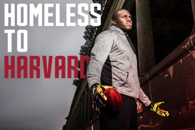 Left Parentless and Homeless, Harvard Star's Amazing Journey May Lead to the NFL