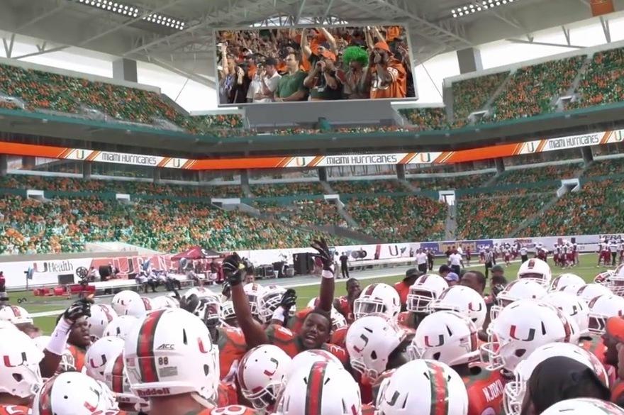 Miami Hurricanes Stadium Miami Hurricanes Release Hype