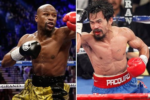 mayweather vs pacquiao purse projected prize money payouts