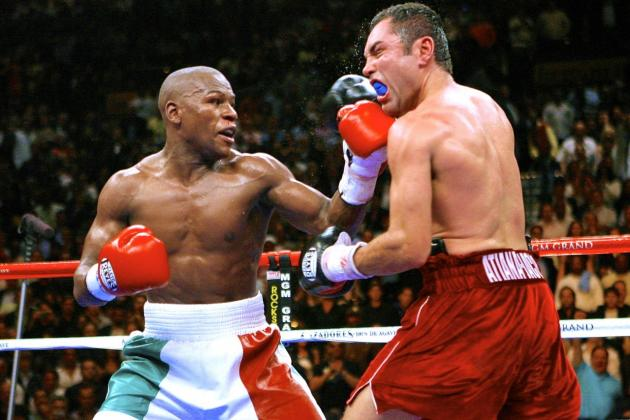 Remembering De La Hoya vs. Mayweather: The Fight That Made Floyd a Superstar