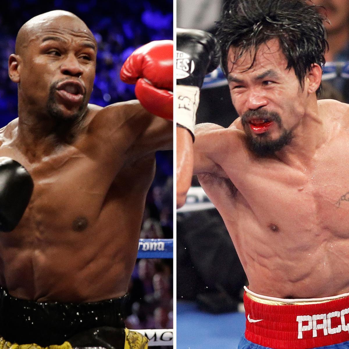 Floyd Mayweather Jr. Vs. Manny Pacquiao Boxing Betting