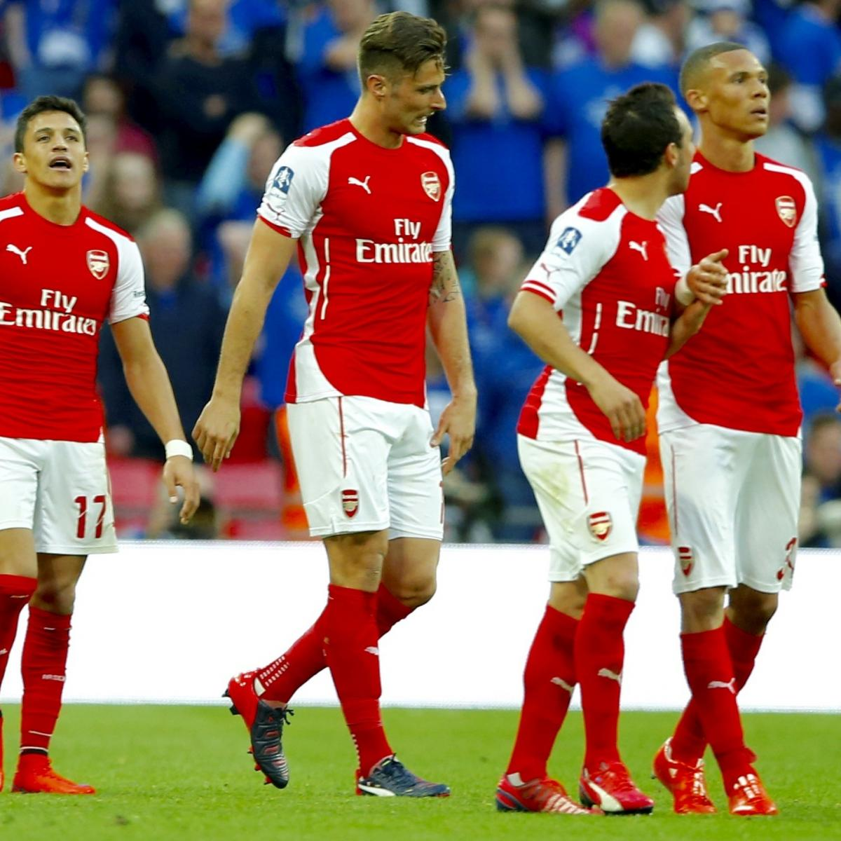 Arsenal Vs Barcelona Live Score Highlights From: Arsenal Vs. Chelsea: Live Score, Highlights From London