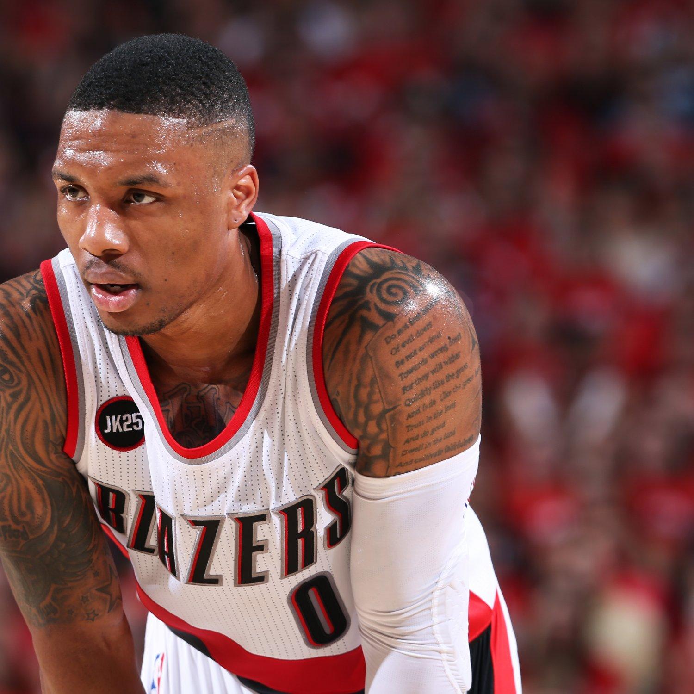 Portland Trail Blazers Contracts: Damian Lillard Contract: Latest News, Rumors On