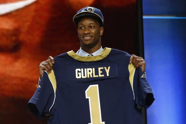 Todd Gurley To Rams Twitter Reacts As Rb Is Selected In