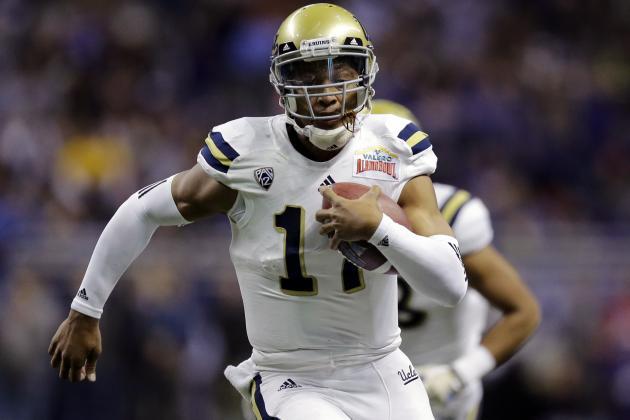 Nike NFL Womens Jerseys - Brett Hundley to Green Bay: Full Draft-Pick Breakdown | Bleacher ...