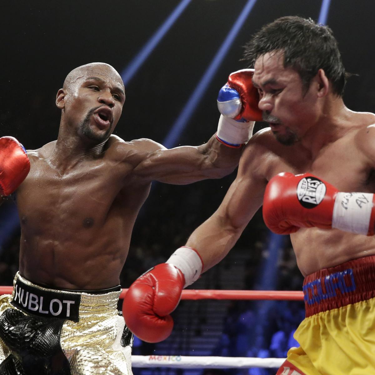 mayweather vs pacquiao winner purse details and review of