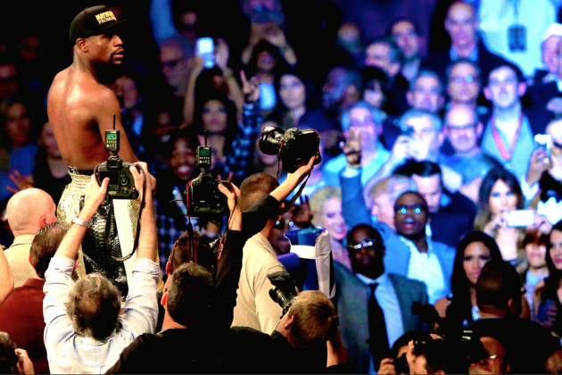 Mayweather-Pacquiao Delivered Glitz, Glamour Like Only a Marquee Prizefight Can