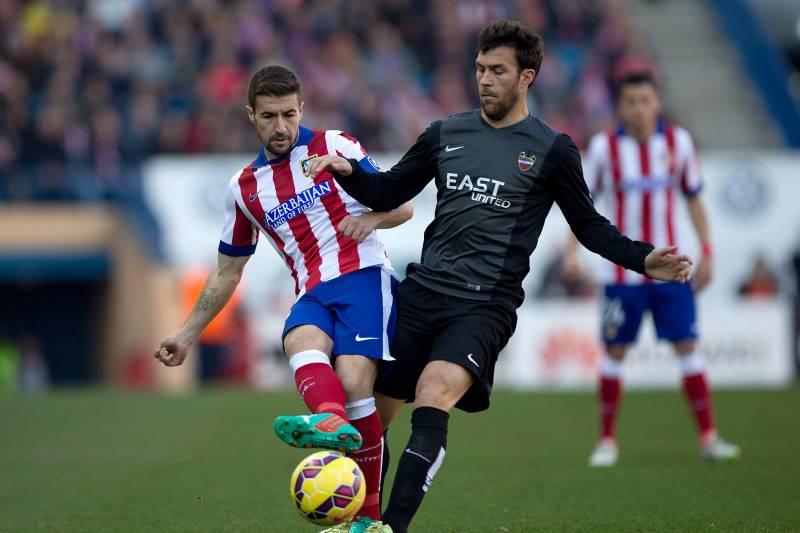 Madrid Spain January Tiga Gabi Fernandez L Of Atletico De Madrid