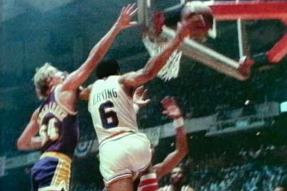 35th Anniversary Of Dr Js Iconic Reverse Layup Versus