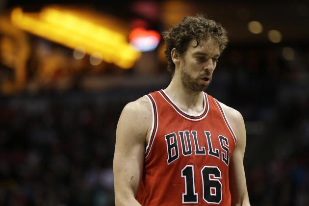Pau Gasol Injury: Updates on Bulls Star's Shoulder, Achilles and Return