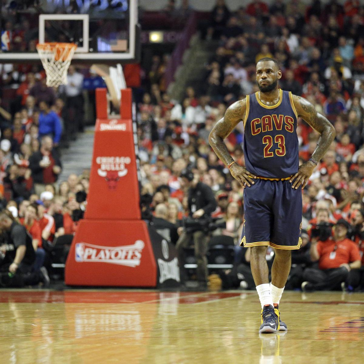 NBA Playoff Schedule 2015: Dates, TV Info For Conference