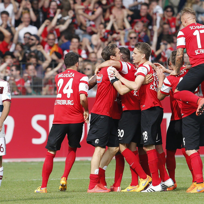 Bundesliga table 2015 permutations and scenarios for final day of the season bleacher report - Last season bundesliga table ...