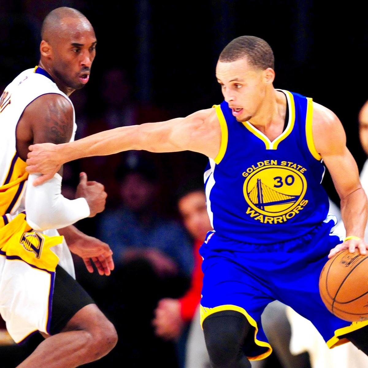 Warriors Come Out To Play Bleacher Report: Kobe Bryant Tweets Riddle About Defending Steph Curry