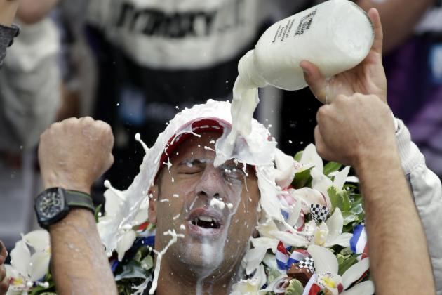 Indianapolis 500 Is Where Winning Means You've Definitely Got Milk
