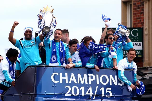 Premier League 2014-2015: Chelsea's Premier League victory parade (Chelsea TV). (25.05.2015)