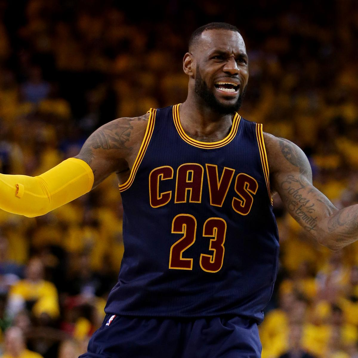 LeBron James Scores 44 vs. Warriors: Stats, Highlights and ...