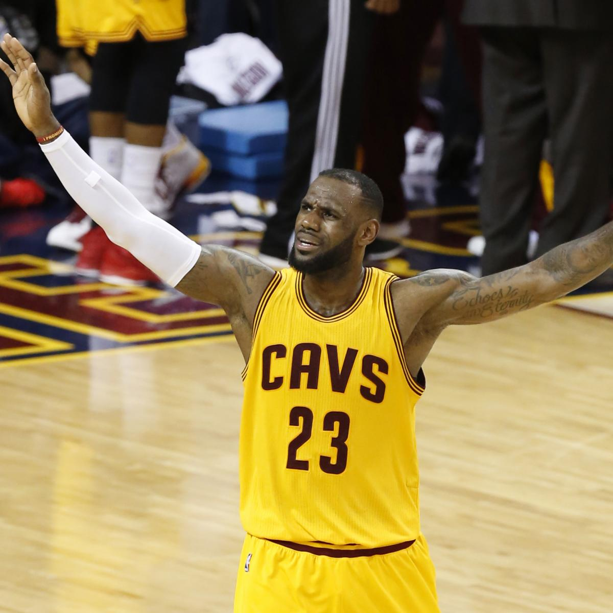 NBA Finals 2015: Warriors Vs. Cavs Game 4 TV Schedule