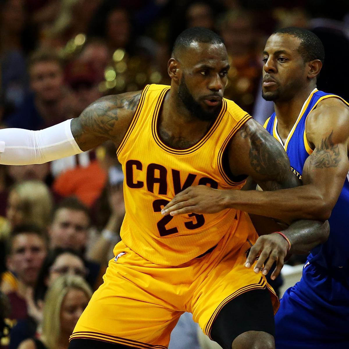 NBA Finals 2015: Cavs Vs. Warriors Game 5 TV Schedule