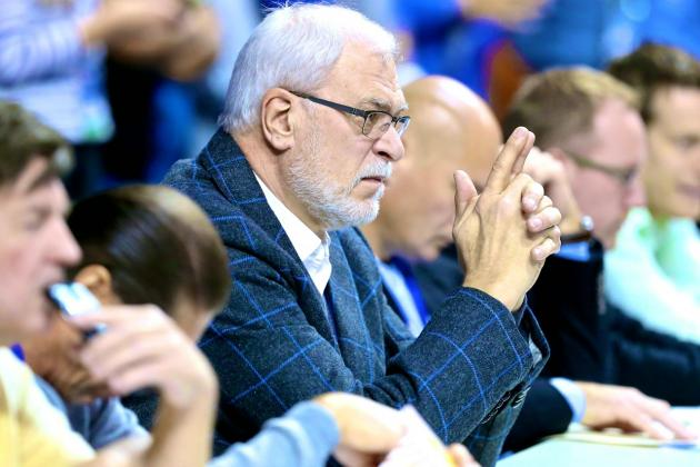 Phil Jackson, NBA's Lord of the Rings, Faces Ultimate Test: Saving the Knicks