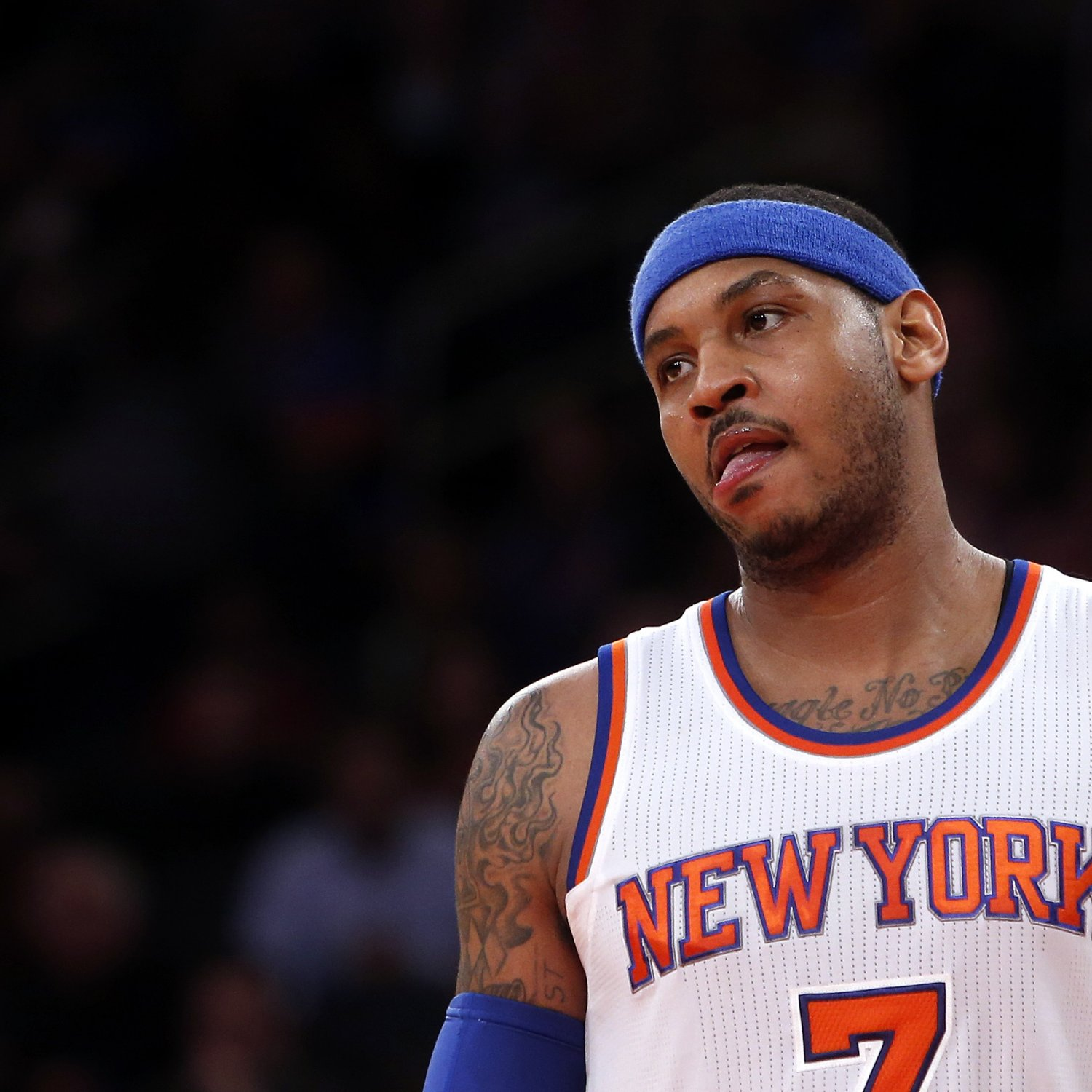 Carmelo Anthony Responds to Instagram Comments, Says ...