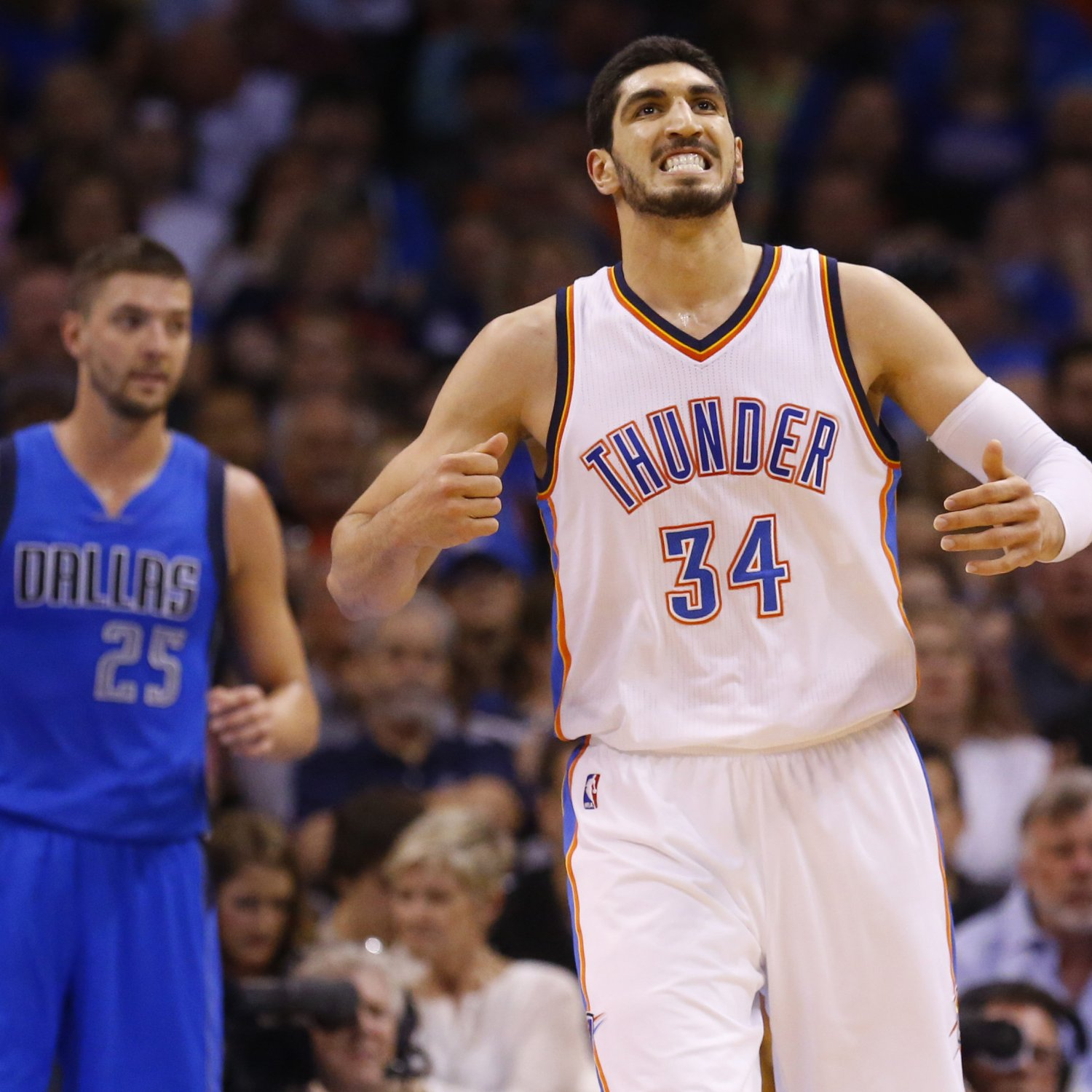 Blazers Kanter: Enes Kanter Reportedly Signs 4-Year Offer Sheet With Trail