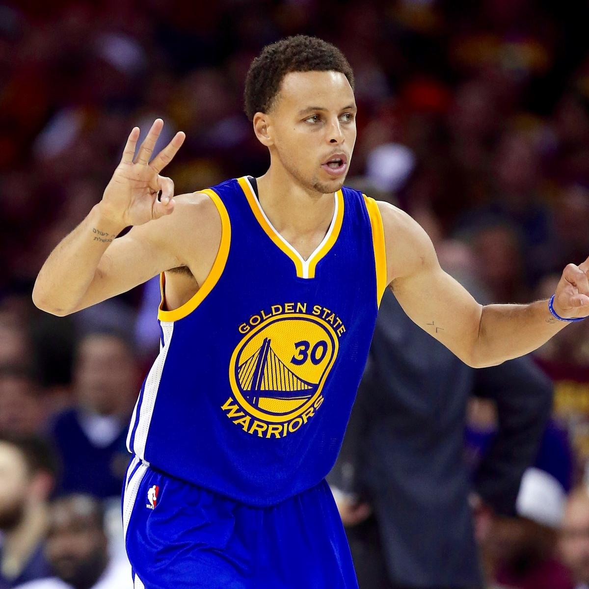 Warriors Come Out To Play Bleacher Report: Q&A: Stephen Curry Would Take Warriors Starting 5 Over Any
