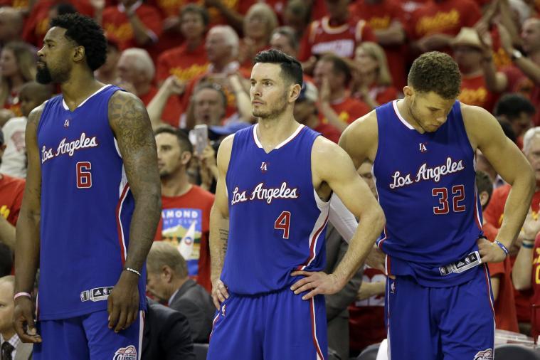 J.J. Redick Gives Clippers' Offseason an 'F' After Losing DeAndre Jordan