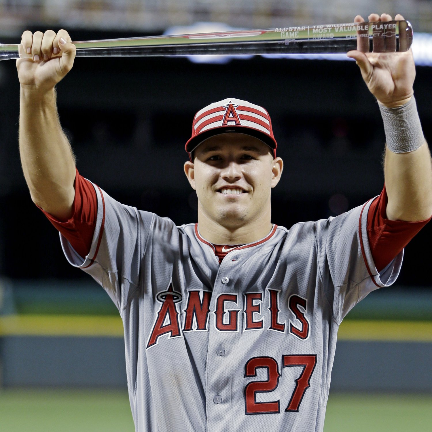 MLB All-Star Game 2015 MVP: Mike Trout's Stats, Highlights
