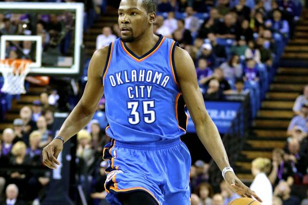Is Kevin Durant Still the NBA's Second-Best Player Behind LeBron James?