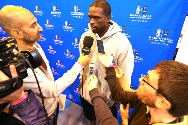 Past Controversy, Luol Deng Leading the NBA's Effort to Make History in Africa