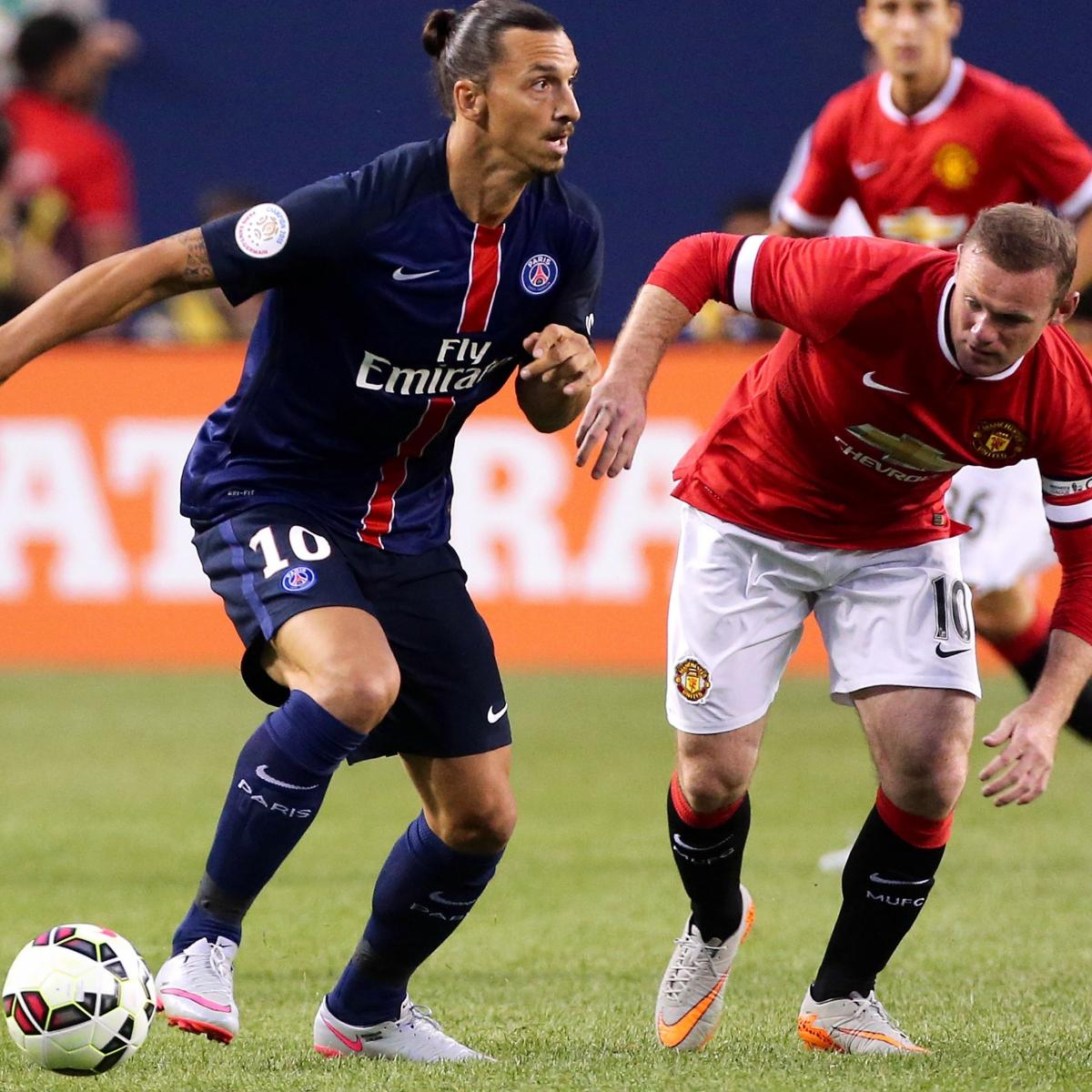 Manchester Utd Vs. PSG: Live Score, Highlights From
