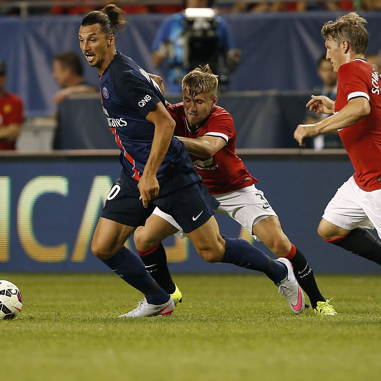 Psg Vs Manchester City Live Score Highlights From: Manchester United Vs. Paris Saint-Germain: Goals