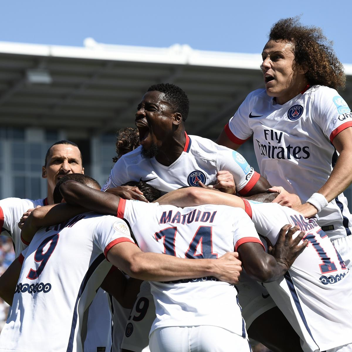 PSG Vs. Lyon: Score And Reaction From 2015 Champions