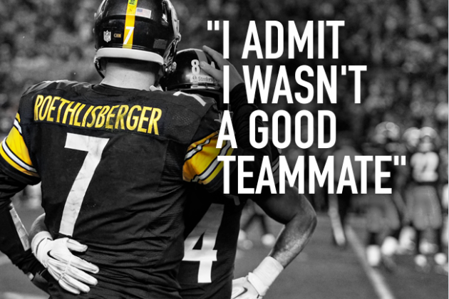 How Ben Roethlisberger Grew Up and Became One of the NFL's Great Teammates