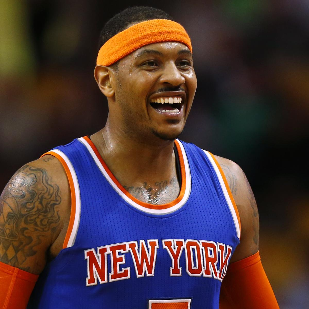 Carmelo Anthony Responds to Fan Questioning Loyalty to ...