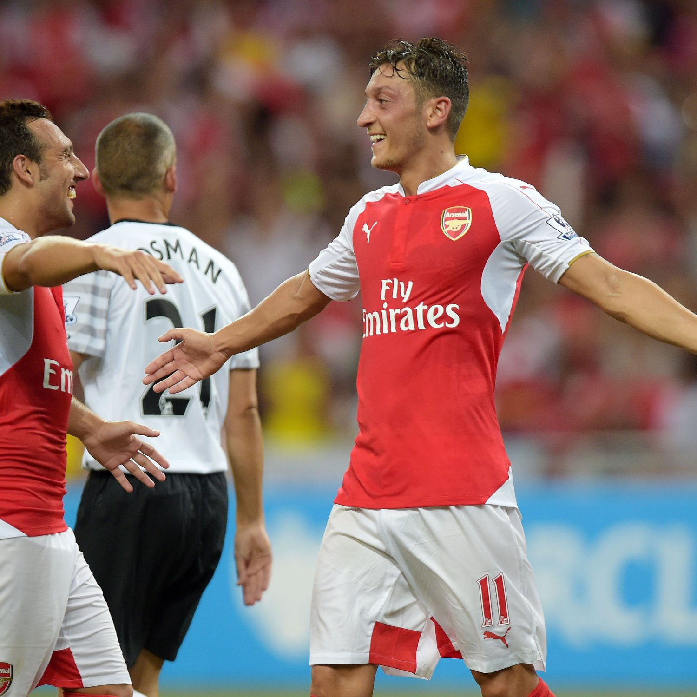 Arsenal Vs Barcelona Live Score Highlights From: Arsenal Vs. Liverpool: Live Score, Highlights From Premier