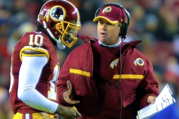 NFL Head Coach on Jay Gruden Leaving RG3 in Game: 'It Looks Personal to Me'