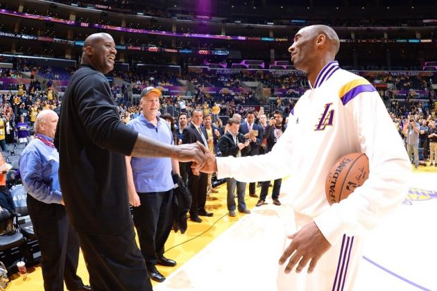 Kobe Bryant and Shaquille O'Neal Comment on Lakers, Relationship, Regrets
