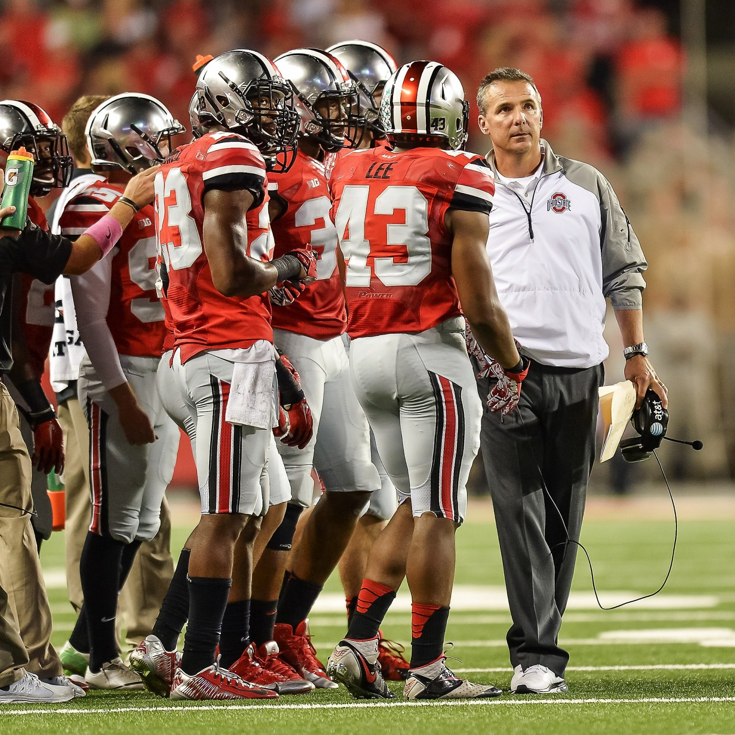 Every Top 25 College Football Team's Toughest Game in 2015 ...