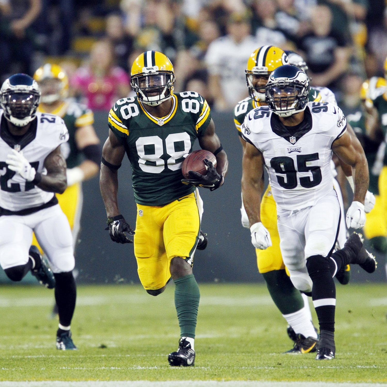 NFL Jerseys Online - Jeff Janis, Ty Montgomery Post-Preseason Week 3 Fantasy Advice ...